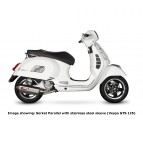 Scorpion Vespa GTS Exhaust System Stainless Steel Image 2