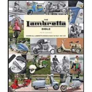 The Lambretta Bible - New Edition - Lambretta Models Built In Italy: 1947-1971 - By Pete Davies Image 1
