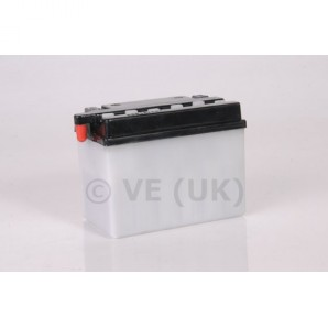 Rms Battery With Acid Pack - Yb4l-b - 121mm X 71mm X 93mm Image 1