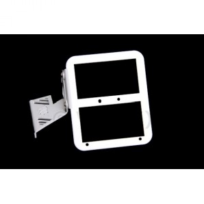 Tc-line Motor Mounted Number Plate Or L Plate Holder - White Image 1