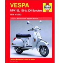 Haynes Manual - Vespa Px. Pe.t5 - Updated With Px Disc