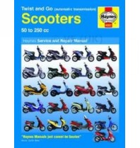 Haynes Automatic Scooter Service & Repair Manual - 2 & 4 Stroke Motors Covered