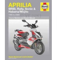 Haynes Workshop Manual - Aprilia Sr 50 - Sonic 50 - Habana 50 - Mojito 50