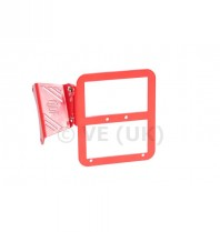 Tc-line Motor Mounted Number Plate Or L Plate Holder - Red