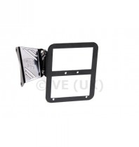 Tc-line Motor Mounted Number Plate Or L Plate Holder - Black