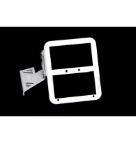Tc-line Motor Mounted Number Plate Or L Plate Holder - White