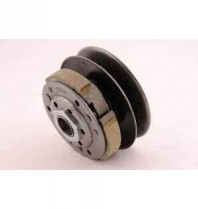 Complete Rear Pulley With Clutch - Suitable For Most Chinese 50cc 4 Stroke Motors