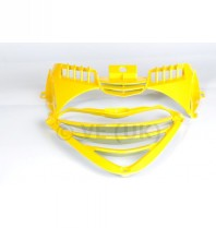 2 Piece Front Grille Set - Yellow - Only For Use With Zip Sp Style Body Kit
