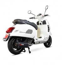 Scorpion Vespa GTS Exhaust System Black Ceramic Sleeve